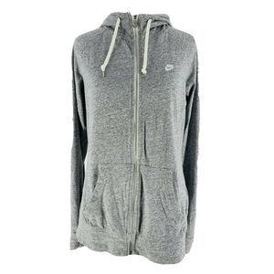 Nike Gray Time Out  Zip-Up Hoodie Jacket Large